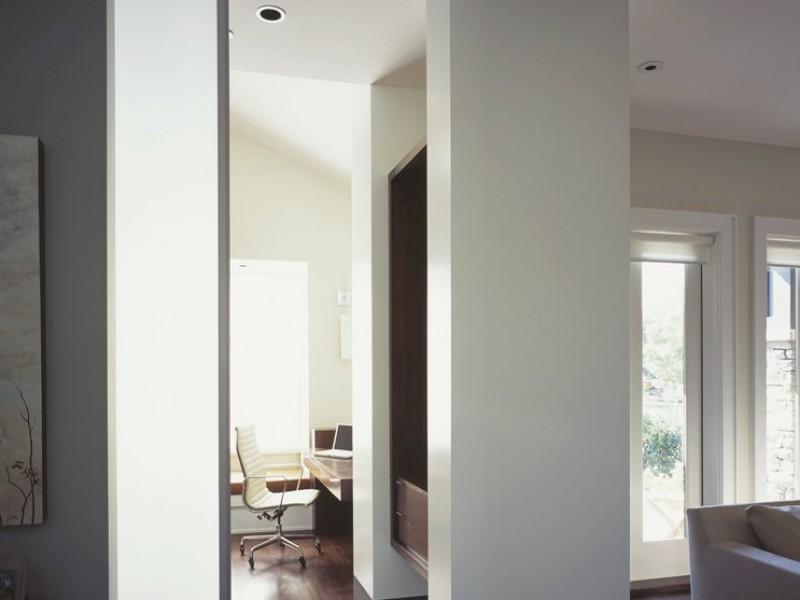 Scheidingswanden voor woonkamer en keuken met schuifdeuren - Winia