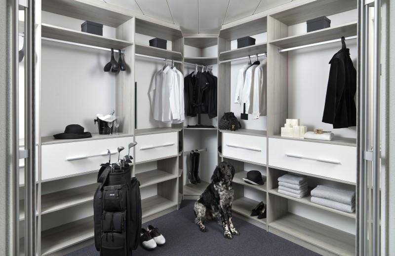 Klassieke Luxe Inloopkast : Slaapkamer inloopkast free inloopkast grijs with slaapkamer